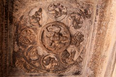 Cave 3. Ashtalakshmi on the ceiling