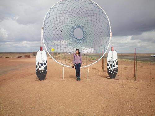 Huge Dream Catchers HUGE dreamcatcher Somewhere in AZ Summer roadtrip 40 Nanxsie 9