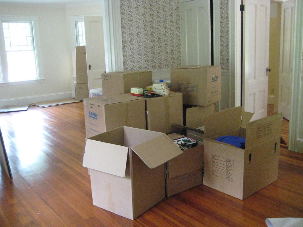 Image result for packing boxes moving