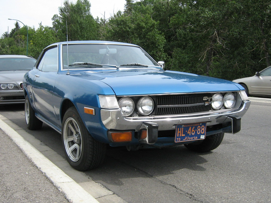1973 Toyota Celica ST | 1973 Toyota Celica ST parked ...