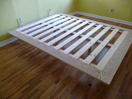 DIY Platform Bed Project - Almost Done! | Just need to stain ...