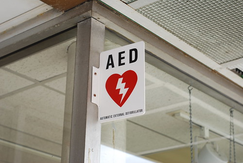 automatic external defibrillator | by h-bomb