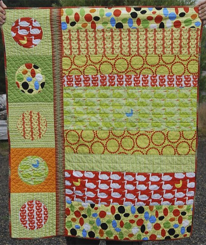 front of baby quilt | by hello miss.quito