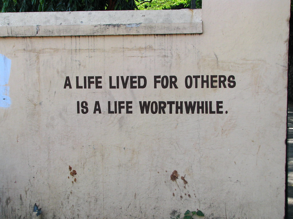 "Inspirational Slogans India  Chennai  Inspirational Wall Slogans 02  ""a Life Li…  Flickr"