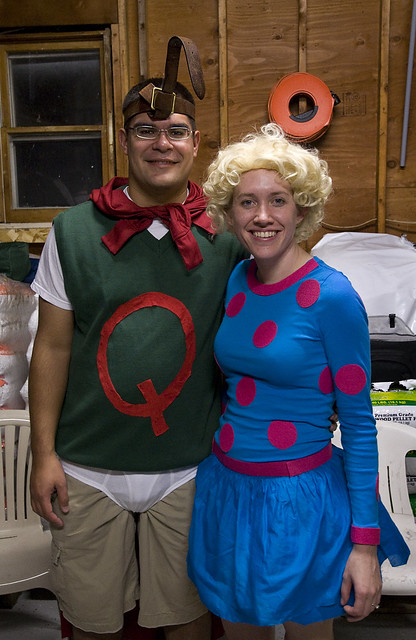 Quailman and his best gal, Patty Mayonnaise | Flickr ... Quailman And Patty Mayonnaise Costume