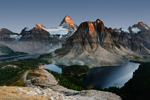 Mt. Assiniboine Bids Farewell to Another Day | by Marc Shandro