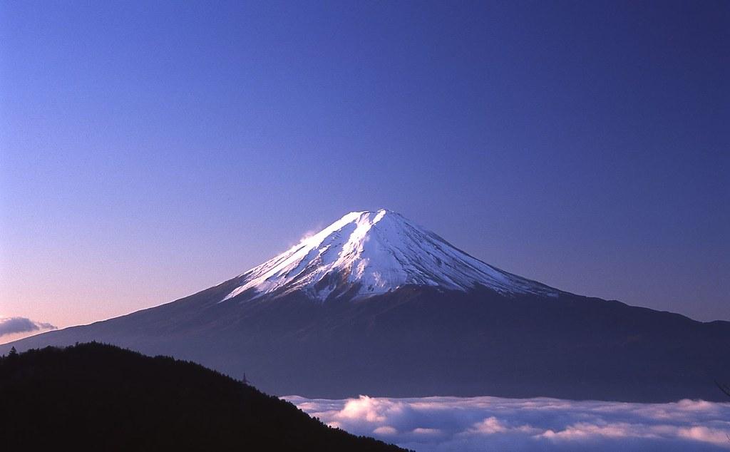 天下茶屋@御坂峠からの富士山 - Mt.Fuji from misaka pass | Nikon F5, SIGMA ...
