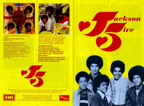 Jackson 5 Promo Leaflet Front sm | by Mystery Singer