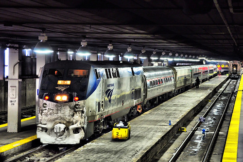 AMTK 153 in Wait, Union Station | by Jim Watkins Photography
