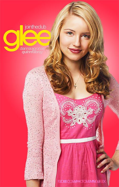 Glee Poster Quinn