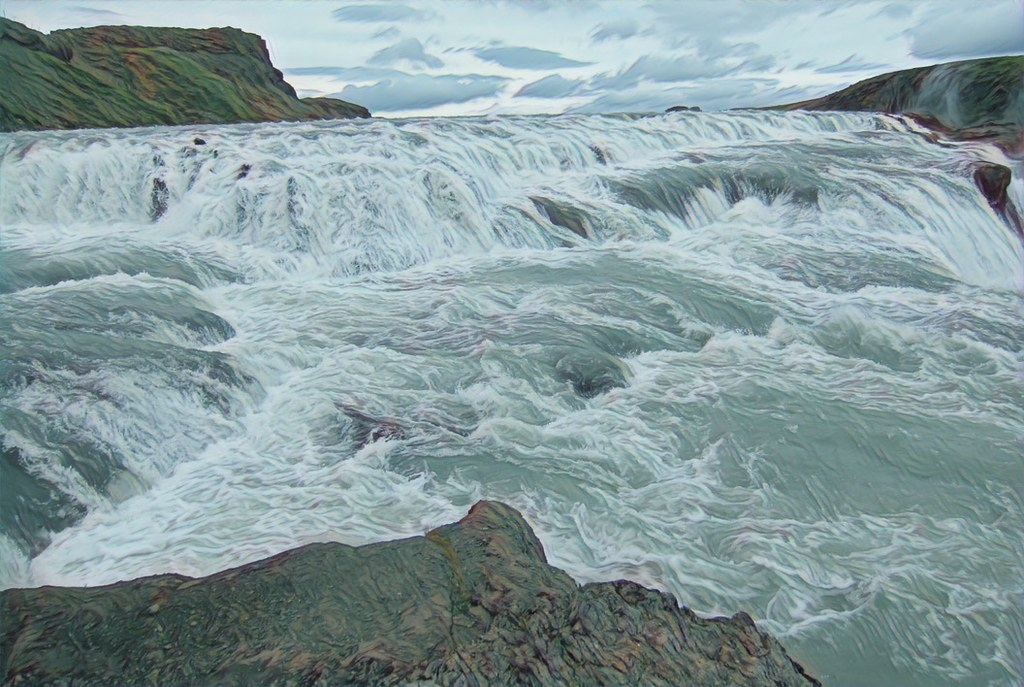 ... Iceland ~ Landmannalaugar Route ~ Ultramarathon is held on the route each July ~ Water Rapids