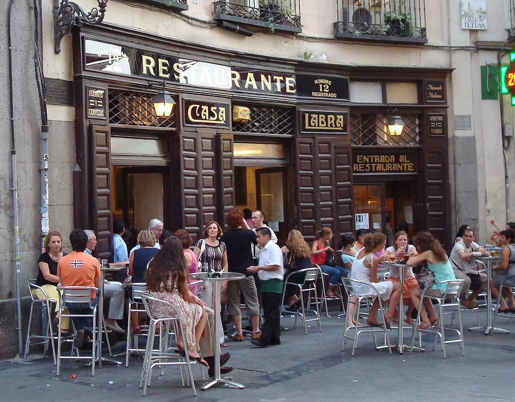 Casa labra madrid restaurante taberna fundado en for La casa encendida restaurante madrid