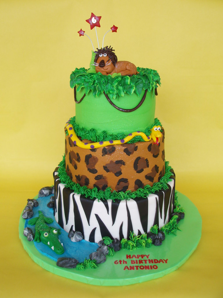 King Of The Jungle Birthday Cake | A cake fit for the King o… | Flickr