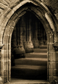 Tintern Abbey in Wales | by a_whisper_of_unremitting_demand