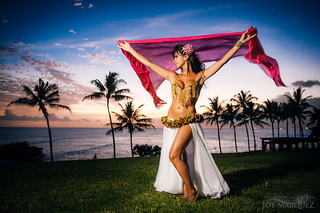 Aisha of Greece - Beautiful Bellydancer in Hawaii | by The Smoking Camera