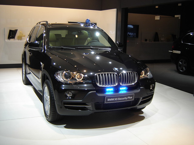 iaa 2009 bmw x5 security plus an armoured version of the flickr. Black Bedroom Furniture Sets. Home Design Ideas