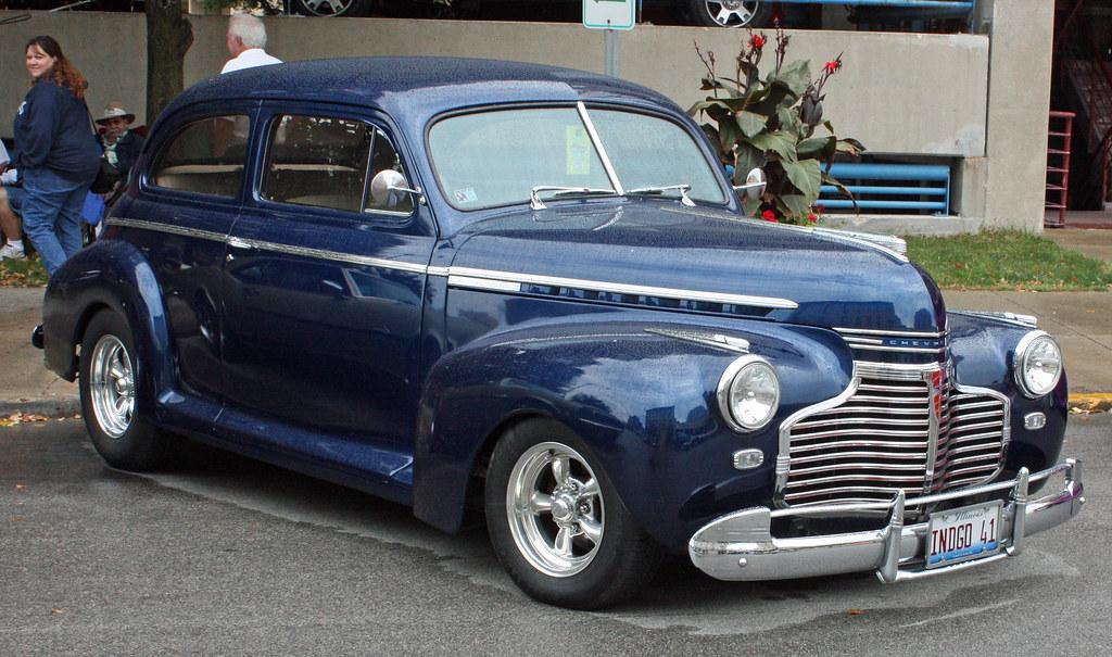 1941 Chevrolet Master Deluxe Sedan Street Rod 3 Of 7