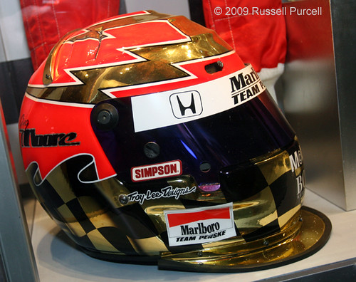 Greg Moore 2000 Season Team Marlboro Penske Helmet Flickr