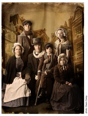 cratchit family photo webready a charming new cratchit