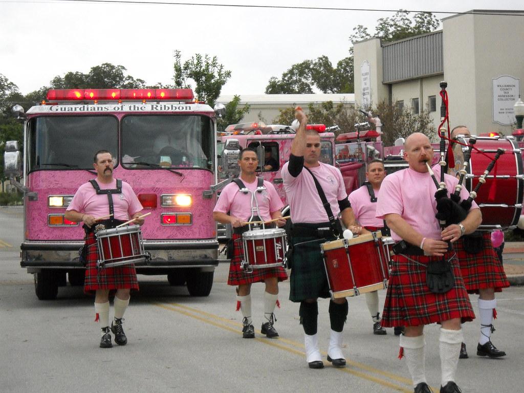 Pink Heals Tour Fire Truck