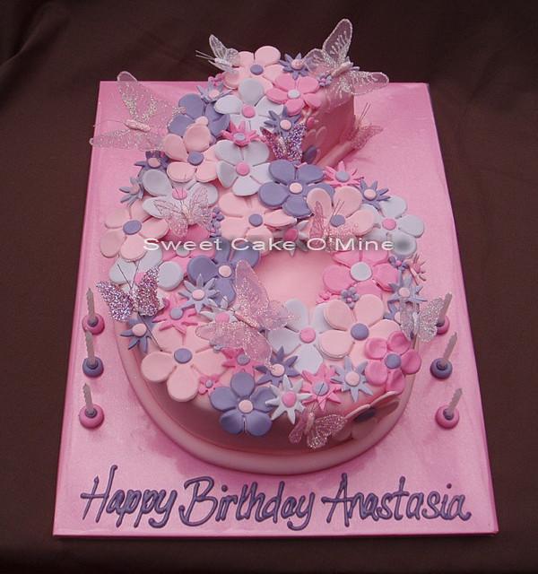 Anastasia Birthday Cake