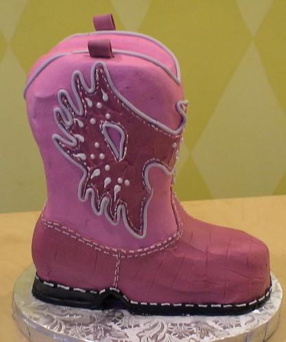 3D Cowboy Boot Cake   vleckas   Flickr