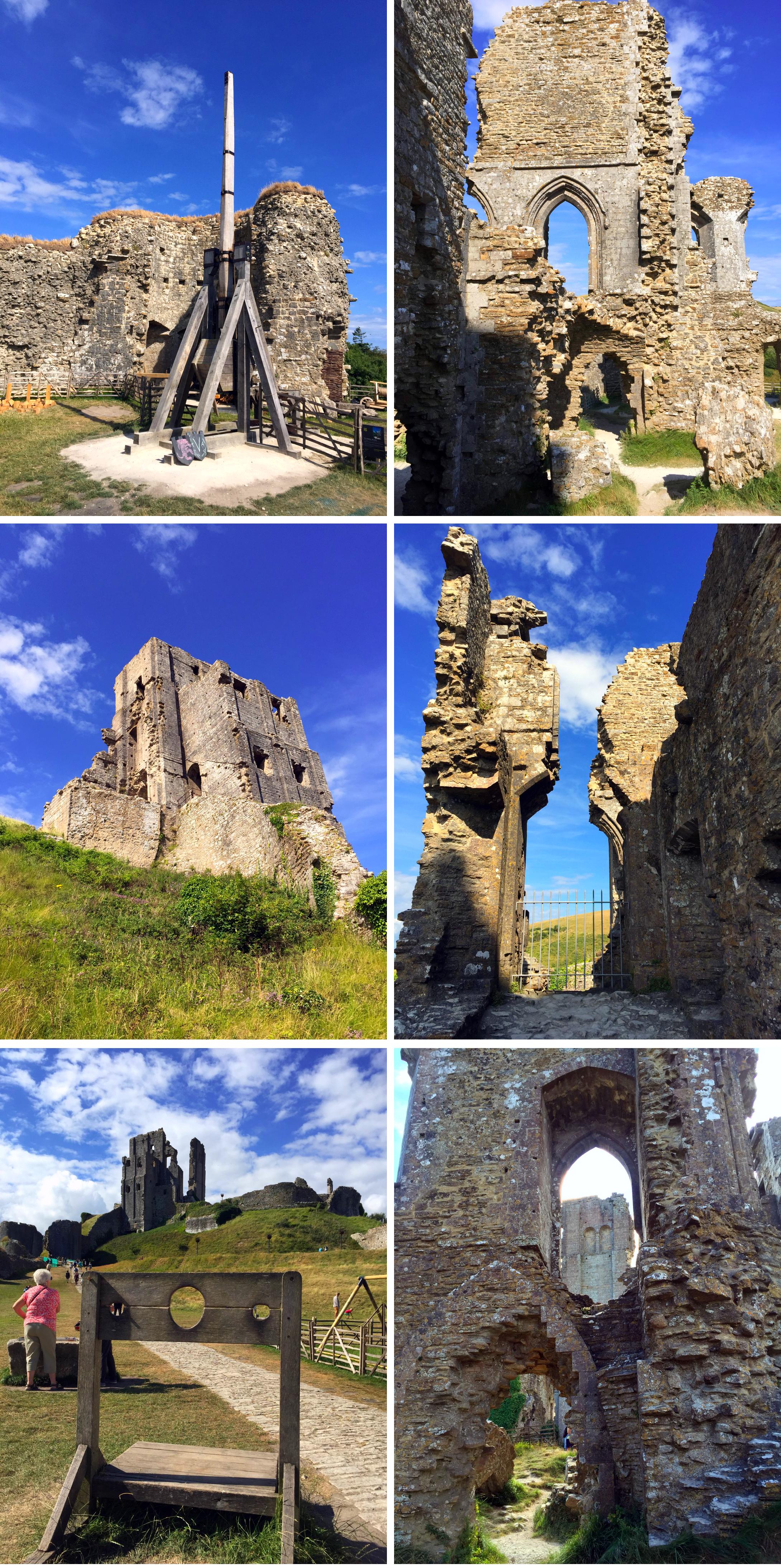 "Corfe Castle - La Bruja Novata - Inglaterra castillo de corfe - 32022198394 0f7e0a3fbb o - Escenarios de ""La Bruja Novata"" – Castillo de Corfe"