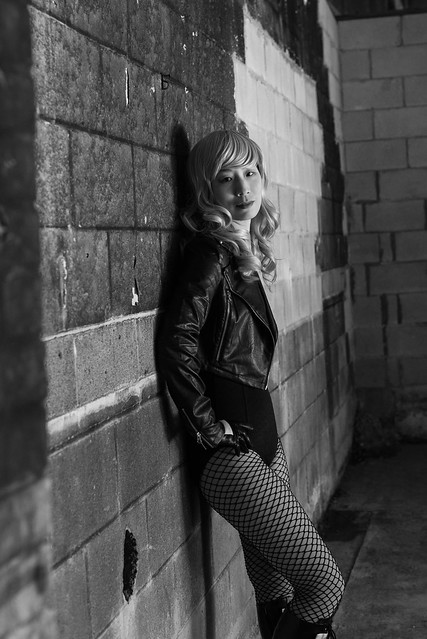 Black Canary Photo Shoot