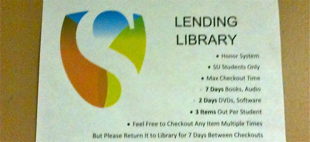 Singularity University Lending Library Rules David Orban