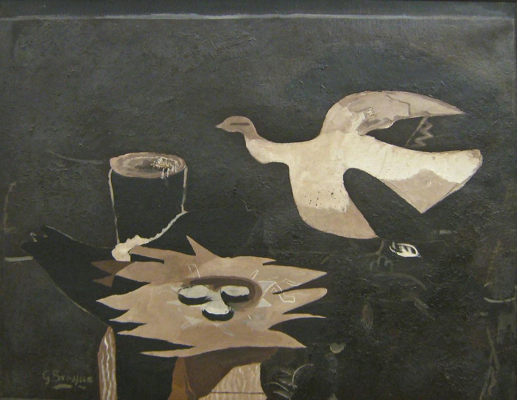 georges braque l 39 oiseau et son nid 1955 quaerere deum. Black Bedroom Furniture Sets. Home Design Ideas