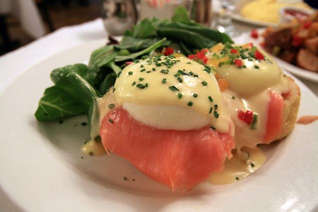 Sarabeth's: Smoked Salmon Eggs Benedict | Flickr - Photo Sharing!