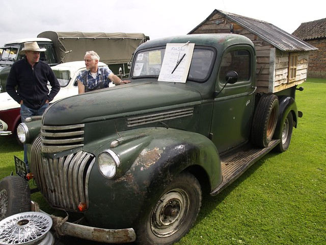 Chevrolet Pick Up Mobile Home 1946 Chevrolet Pick Up
