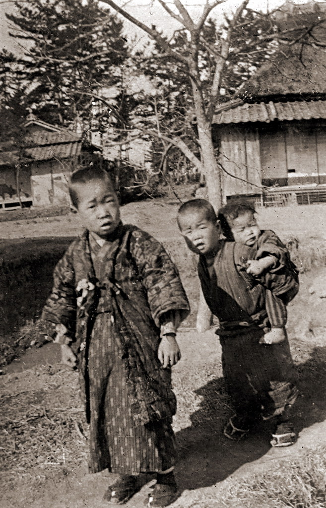 Kids i am not sure where and when these photographs had for Domon ken hiroshima