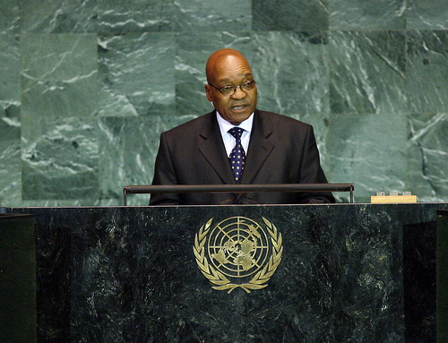 President of South Africa Addresses General Assembly | by United Nations Photo