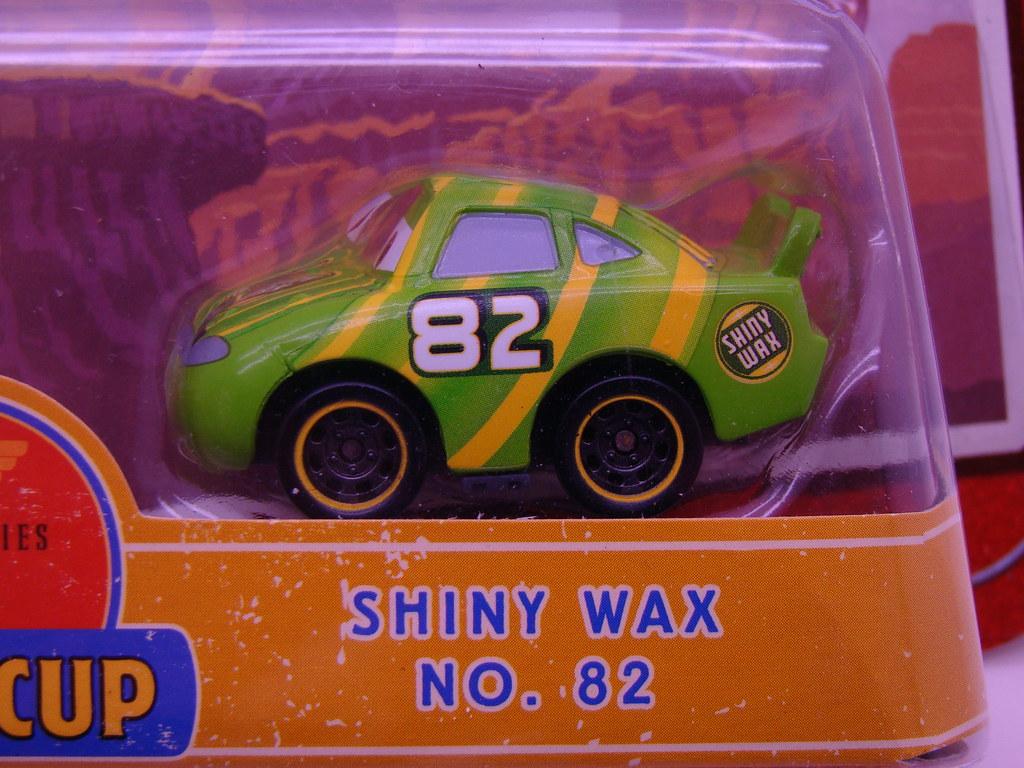 Disney Cars Mini Adventures Shiny Wax Rpm64 Justjdm