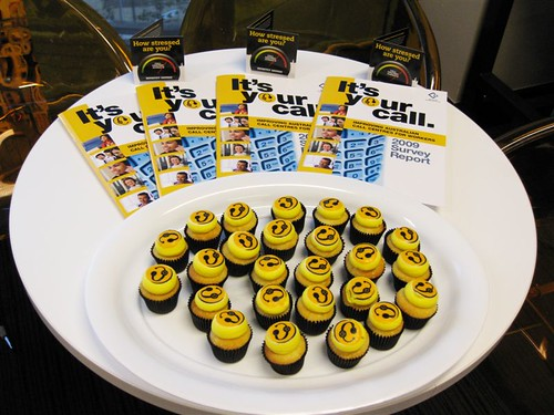 The signature cupcakes from Sugadeaux - look good and taste great | by ASU National Office