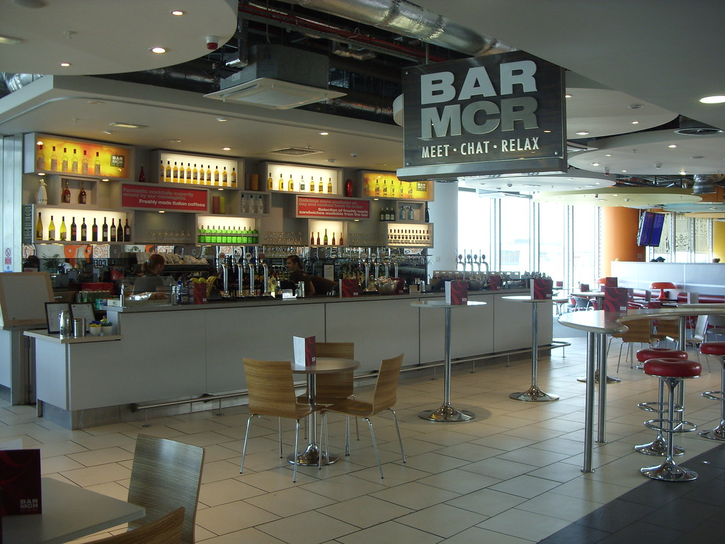 Manchester airport terminal 1 bar mcr in food court 2 in s flickr manchester airport terminal 1 bar mcr in food court 2 in shopping area 4 m4hsunfo