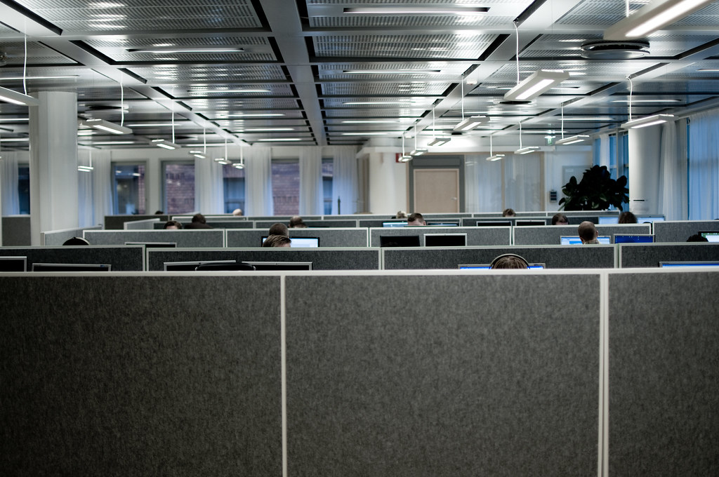 cubicles our new office at net entertainment now also