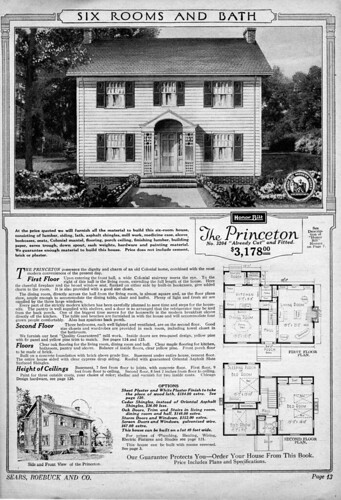 Sears kit house the princeton the princeton daily for The princeton house