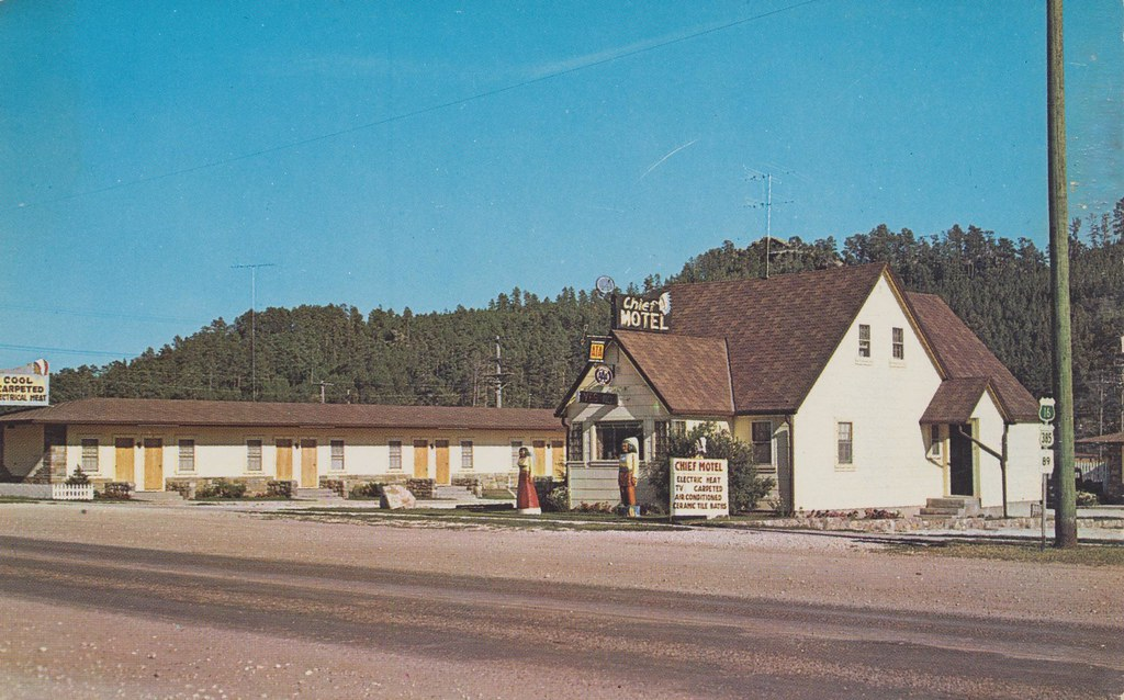 Chief Motel - Custer, South Dakota