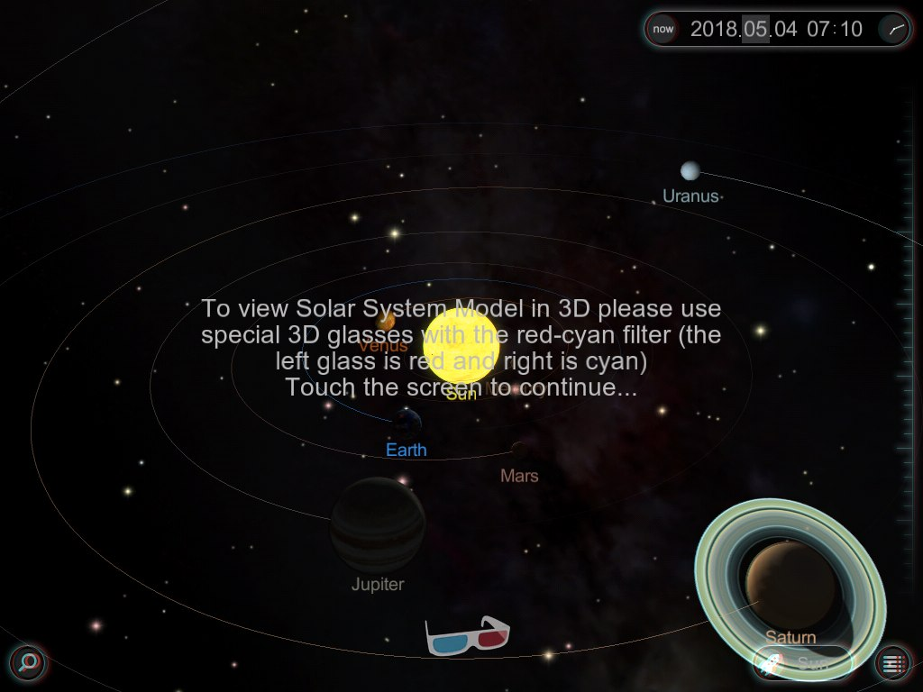 Solar System in 3D | You can view and spin the Solar ...