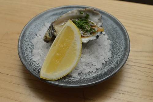 Oyster with Nomad Worcestershire