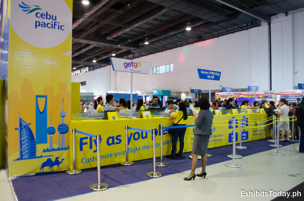 Cebu Pacific Exhibit Booth
