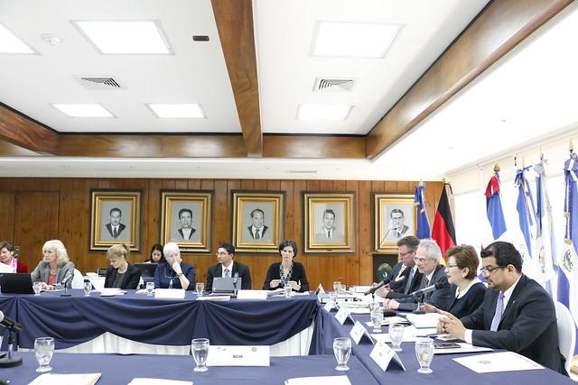 Ronda de Consultas SICA - BCIE - Alemania en El Salvador