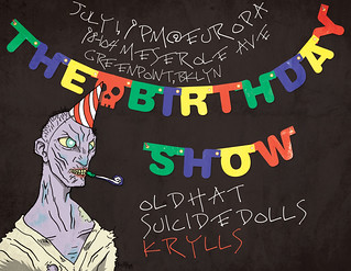 birthdayshow-flyer-July0109c | by theDVL