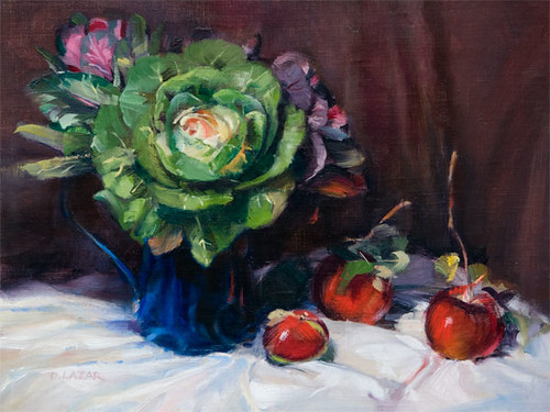 Cabbage Flower with Apples | by artworking