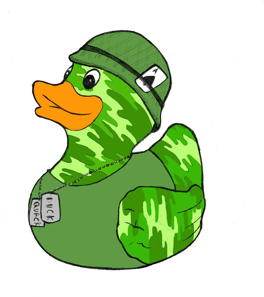 Army Duck Jo Blakeley Flickr