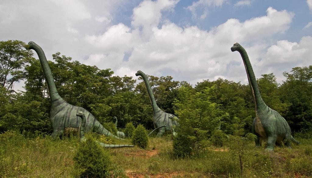 Dinosaur World Kentucky Cartoonish As Opposed To