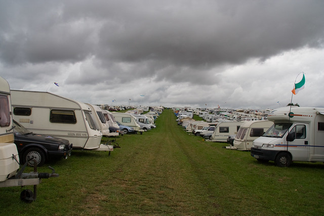 Dorset steam fair camping