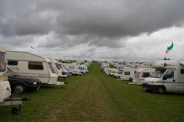 Dorset steam fair camping